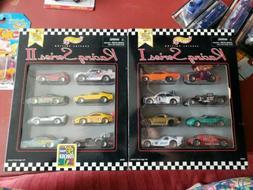 Hot Wheels Racing Series I & II  Car Boxed Sets Sealed, Comp