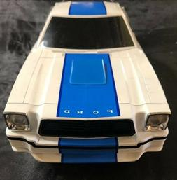 Latrax Radio Controlled Vintage Mustang II Cobra White And B
