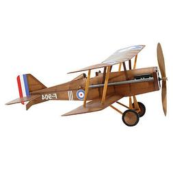 RAF SE5a WWI Bi-plane model airplane complete vintage model rubber-powered balsa wood aircraft kit that really flies by
