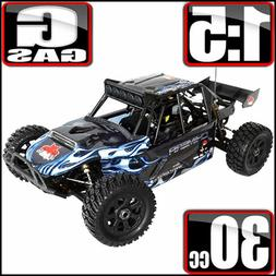 RAMPAGE CHIMERA 1/5 SCALE GAS POWERED SAND RAIL HUGE RC REDC