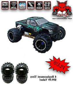 REDCAT RACING RAMPAGE MT V3 1/5 Scale Gas Monster Truck RC 3