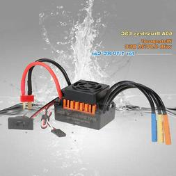 RC 1/10 Car Waterproof Brushless 60A ESC Electric Speed Cont