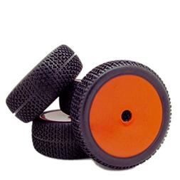 4pcs RC 1/8 Scale Off Road Car Buggy RC Tires Tyre and Wheel