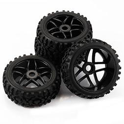 SkyQ 4pcs RC 1/8 Scale Off Road Car Buggy RC Tires Tyre and