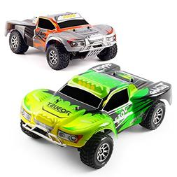 RC 4WD Car 1/18 Scale 2.4Ghz 45KM/H Wltoys A969 Remote Contr