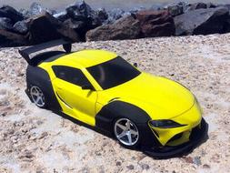 RC Body Car Drift Touring 1:10 Toyota Supra A 90 wide style
