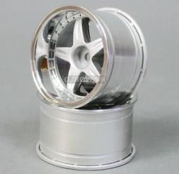 RC Car 1/10  RIMS  WHEELS Package KAWADA 5 Star  WIDE  32mm