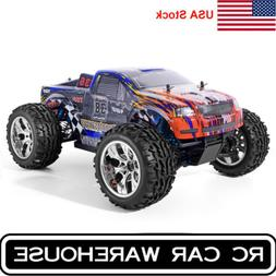 HSP RC Car 1/10 Scale 4wd Off Road Monster Truck Brushless M