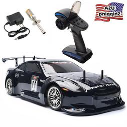 HSP Rc Car 1/10 Scale Nitro Gas Power Models On Road Racing