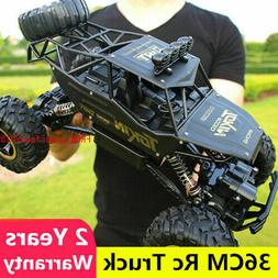 RC Car 1/12 4WD Remote Control Vehicle 2.4Ghz Electric Monst