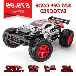 KOOWHEEL RC Car, 1:12 4WD Remote Control Car, 2.4Ghz Off-Roa