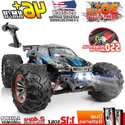 Hosim RC Car 1/12 Scale 2.4Ghz 4WD Off-road Remote Control T