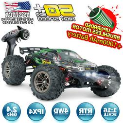 Hosim RC Car 1:16 4WD Brushless Remote Control RC Monster Tr