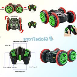 Rabing RC Car 2.4 Ghz 4WD Stunt Car 6CH Remote Control Amphi