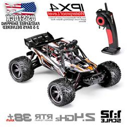Hosim RC Car 2WD Monster Truck 1/12 2.4Ghz Off Road Truggy R