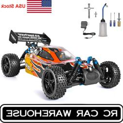 HSP RC Car 4wd 1:10 Off Road Buggy Nitro Gas Two Speed RTR R