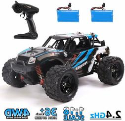 REMOKING RC Car 4WD 1/18 Scale 25MPH Great Christmas Gifts f