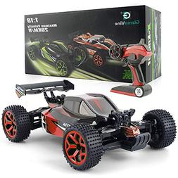 GizmoVine RC Car 4WD High Speed 1:18 Scale, 2.4Ghz Remote co