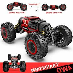 BEZGAR RC Car, 4X4 Kids Off Road 1:14 Large Size Transform R