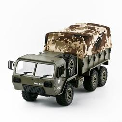 RC Car Army Military Truck RTR Vehicle Crawler With Tent Arm