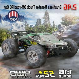 RC Car Brushless 2.4G 1:16 4WD 52km/h Off-road  Extra Cover