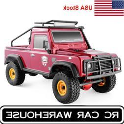 RGT RC Car Crawler 1:16 4WD Metal Gear Off Road Truck Hobby