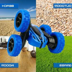 Cheerwing RC Car for Kids 360 Rotating 4WD Double Sided Stun
