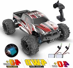 RC Car High Speed Remote Control Car 1:18 30+ MPH 4WD 2 batt