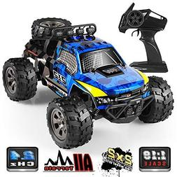 RC Car, 1:18 All Terrain Remote Control High-Speed Offroad 2