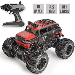 RC Car Remote Control Car, 1:16 Scale Electric RC Vehicles O