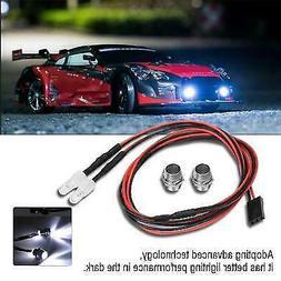 RC Car Roof  2* LED Light Spotlight 5mm Headlights for 1/10