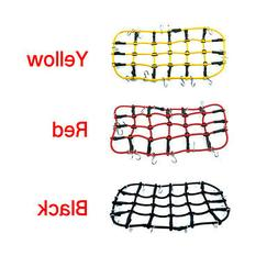 RC Car Roof Rack Cargo Elastic Luggage Net W/ Hook For 1:10