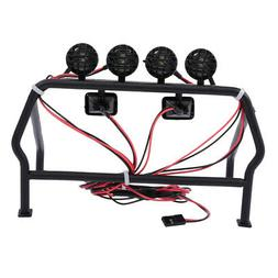 RC Car Truck Roof 6 LED Light Rack RC Vehicle Model Spare Pa