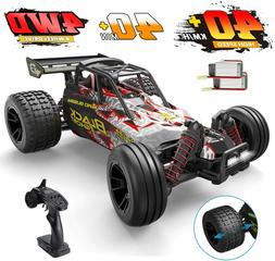RC Cars 1:10 Scale High Speed Remote Control Car 4WD 2.4G Of
