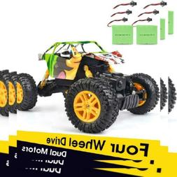 rc cars 1 18 dual motors rechargeable