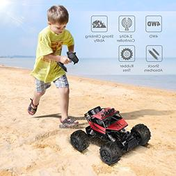 INTEY RC Cars Amphibious Remote Control Car 1:12 4WD Off Roa