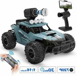 RC Cars DE36W 1/16 Remote Control Car + 720P HD FPV Camera R