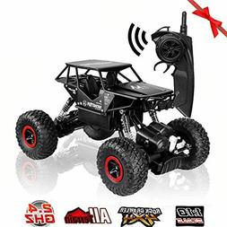 RC Cars Off-Road Rock Crawler Truck Vehicle 2.4Ghz 4WD 1:18