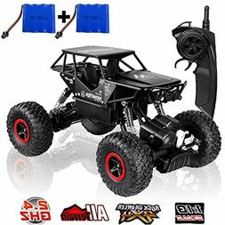 RC Cars Off-Road Rock Crawler Truck Vehicle 2.4Ghz 4WD High