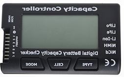 "Jrelecs® 2.1"" Screen RC Cell Meter-7 Digital Battery Capaci"
