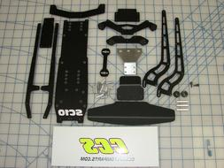 RC Drag Car Complete Conversion Kit for Associated SC10 2wd