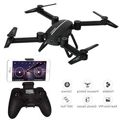 RC Drone with camera,Kingtoys Skyhunter Drone with WiFi 720P