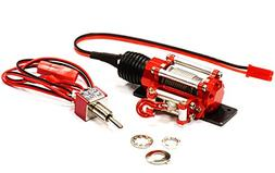 Integy RC Hobby C24659RED Billet Machined Realistic Power Wi