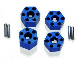 Integy RC Hobby T7965BLUE Wheel Hub  for Traxxas 1/10 Stampe