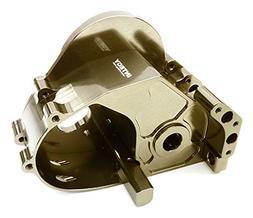 Integy RC Model Hop-ups C26833GREY Billet Machined Gear Box