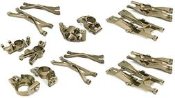Integy RC Model Hop-ups C26835GREY Billet Machined Suspensio