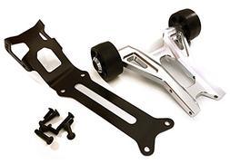 Integy RC Model Hop-ups C27985SILVER Billet Machined Wheelie