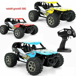 RC Monster Truck 1:18 Scale 2.4Ghz 4CH Off-Road Remote Contr