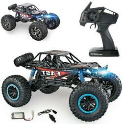 RC Monster Truck Car 1:10 Scale 4WD 2.4Ghz Off-Road Brushed