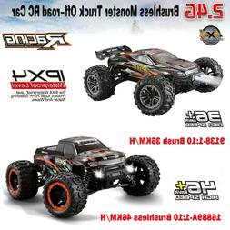 RC Monster Truck Car 1:10 Scale 4WD 46KM/H 2.4Ghz Off-Road R